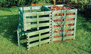 komposter selber bauen selbstde