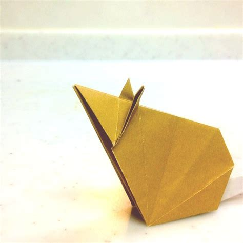 Rat Origami - origami mouse origami crafts