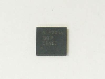 Rt8206a Rt8206agqw Laptop Chip new richtek rt8206agqw rt8206a gqw qfn 32pin power ic chip chipset ebay