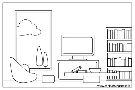 coloring pages of the house free room of the house coloring pages