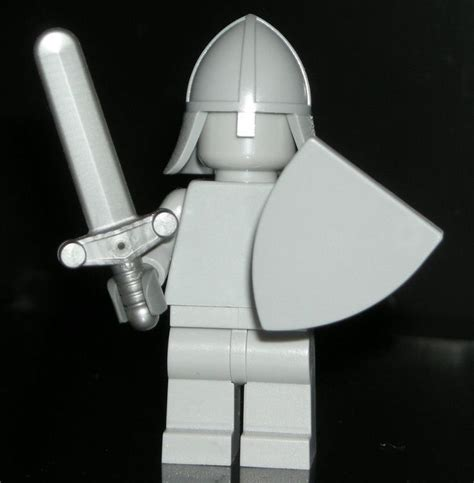 Lego Minifigure With Shield And Sword 26 best images about lego custom minifigures on surfers bluish gray and lego
