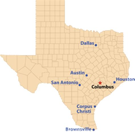 columbus texas map tpwd columbus texas paddling trails