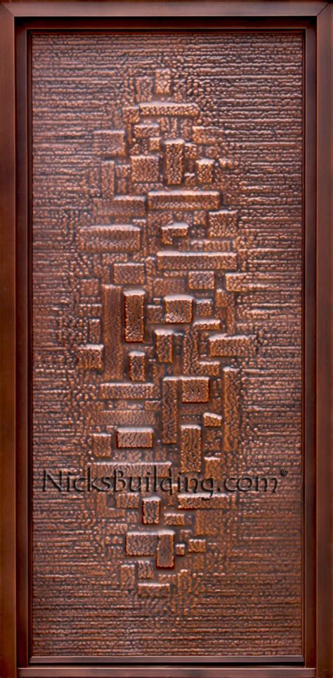 building exterior door copper doors exterior copper doors