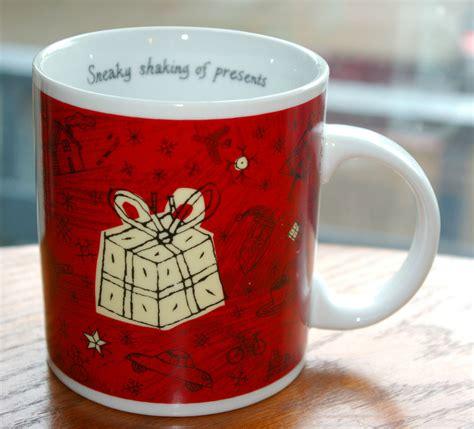 starbucks mug 2000 ebay starbucks coffee 2000 barista mug sneaky shaking of presents ebay