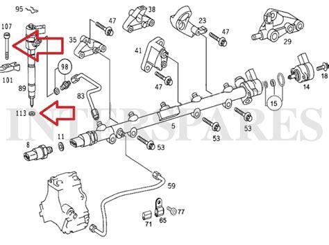 Seal Vc 28x40x5 Tto Vc 28 00 40 00 5 00 Tto 5 injector gaskets 5 holder bolts mercedes 2 7cdi 2 9td 6110170060 0009902907 ebay