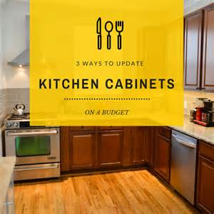 3 budget friendly ways to update kitchen cabinets home