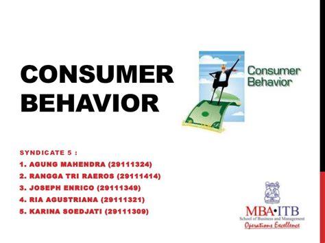 Mba Consumer Behavior Unit 4 by Consumer Behavior Culture