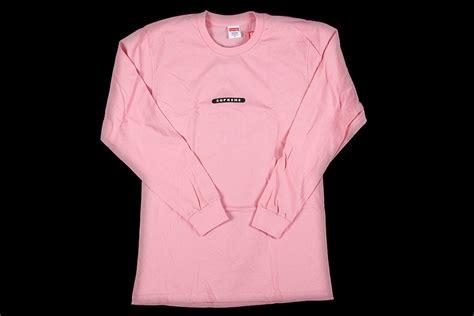 Longsleev Kaos Supreme supreme sleeve shirt shirts knits supreme apparel