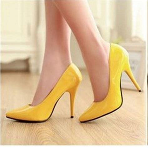 cheap yellow high heels compare prices on cheap yellow pumps shopping buy