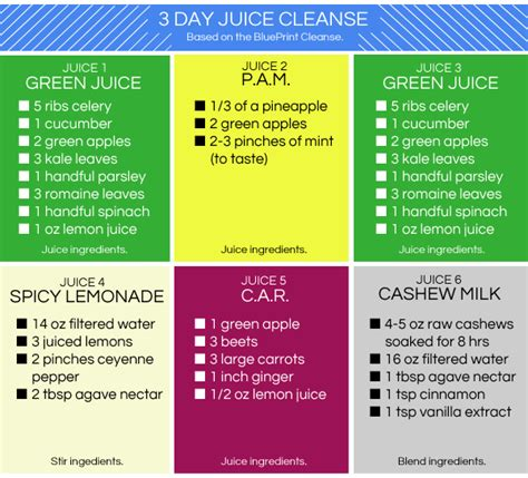3 Days Detox Juice Diet Plan by Not Feeling A Pricey Juice Cleanse Try A One