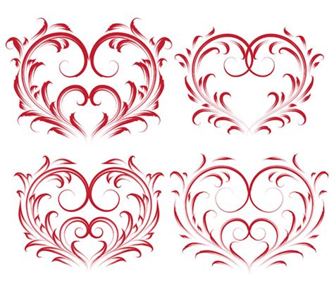 heart pattern in java vector page 932