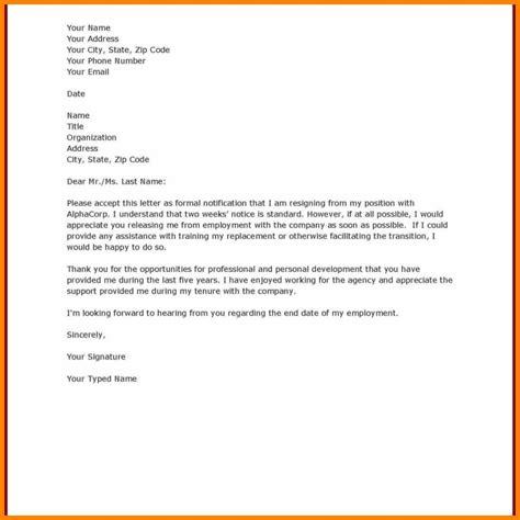 formal letter template 10 model of formal notice edu techation 1233
