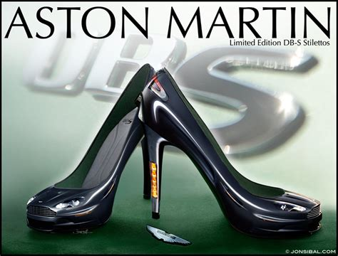 Christian Lamborghini Shoes Aston Martin Db S Stilettos Teamspeed