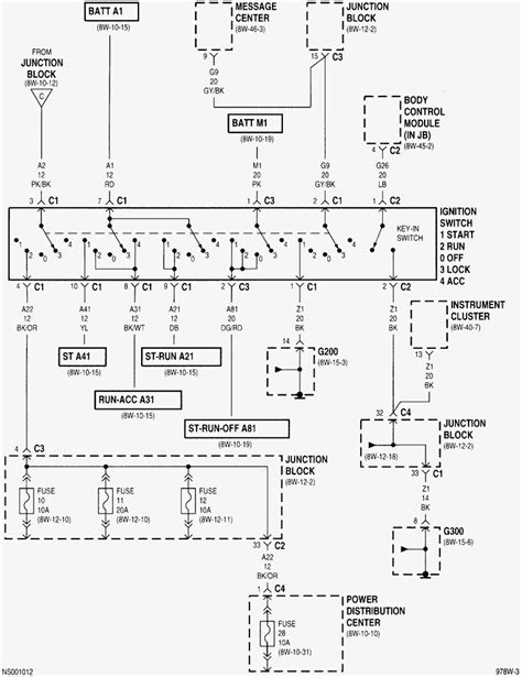 2002 dodge caravan ignition wiring diagram wiring diagram
