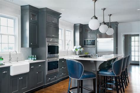 dark gray cabinets kitchen 24 grey kitchen cabinets designs decorating ideas