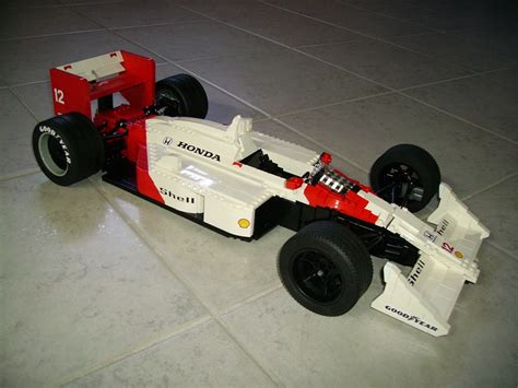 f1 lego still faster than mp4 28 a lego mclaren mp4 4