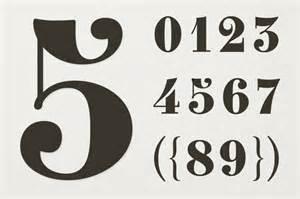 number fonts 10 stylish exles design shack
