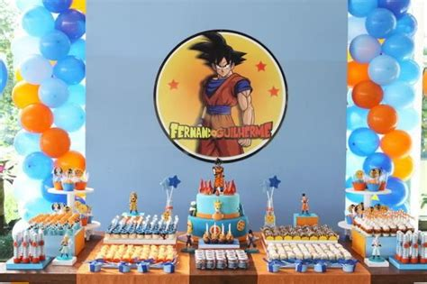 party themes a z 17 best images about dragon ball z party ideas on