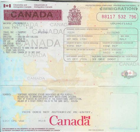Work Permit After Mba In Canada by Work Permit In Canada Settle In