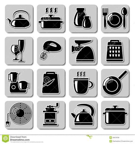 imagenes libres cocina iconos del art 237 culos de cocina del vector im 225 genes de