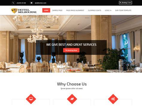 Theme Hotel Melbourne | theme directory free wordpress themes
