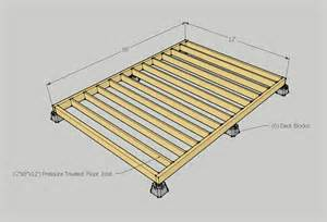 small solar home subfloor framing