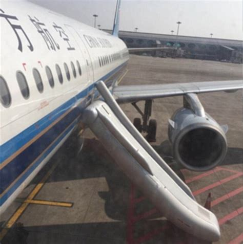 Mistakes On A Plane by China Southern Airlines Passenger Opens Emergency Exit