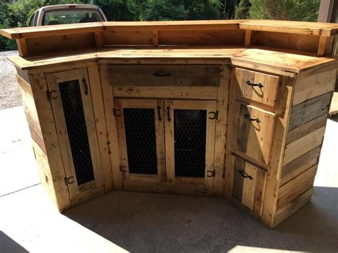 Handmade Bars - custom made wood pallet bar