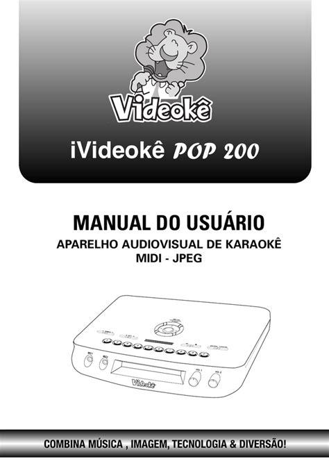 Baixar - ivideoke   Manualzz