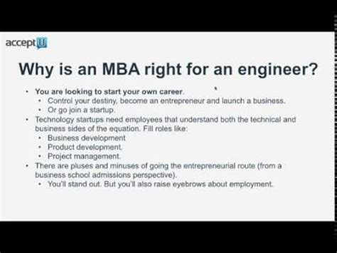 Why Get An Mba As An Engineer by Engineer Successfully Building A Bridge To An Mba