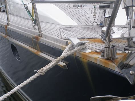 how to make a boat base rust rust on new yacht mystery