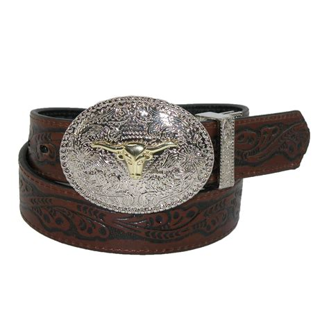 1 1 8 inch reversible western belt by rogers whitley
