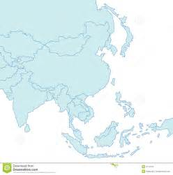 Free Asia Outline Map Vector by Asia Map Clipart Clipart Suggest