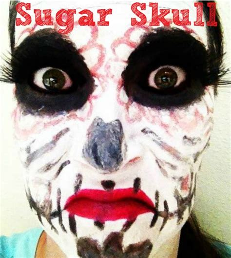 tutorial skull makeup sugar skull tutorial mugeek vidalondon