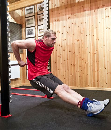 dips between benches bodyweight starter sessions for home