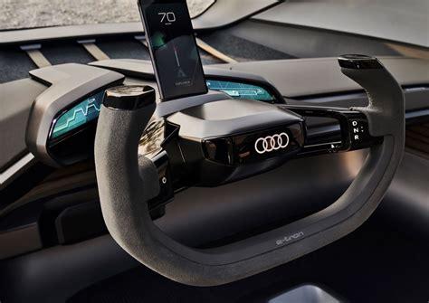 audi ai trail quattro concept interior design steering