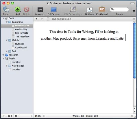 Outliner Software by Creative Writing Outliner Software