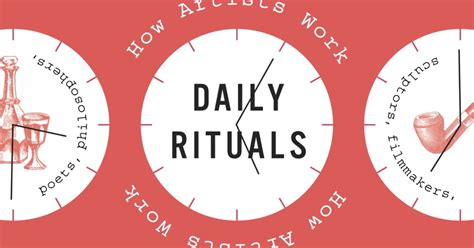 What I Learned From The Daily Rituals Of 161 Inspiring