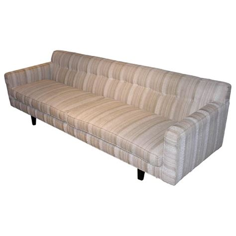 couch with no back sofa no 133 with back strut design by edward wormley at