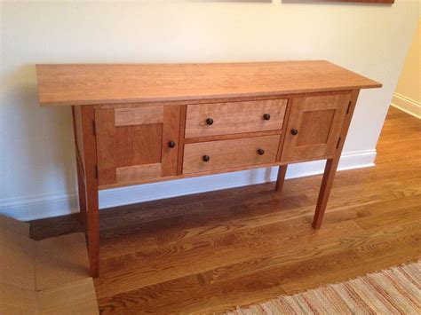 custom cherry sideboard by dvg arts and framing llc