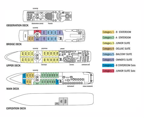 information deck ship information deck plans cruise traveller