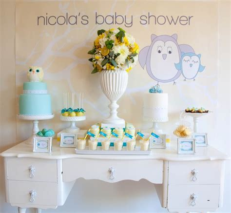 Owl Theme Baby Shower by Beautiful Owl Themed Baby Shower Aussie Challenge