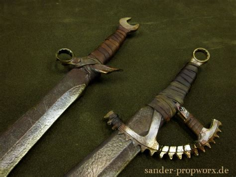 pin by apocalypse on weaponry postapocalyptic larp weapons by bloodworxsander deviantart