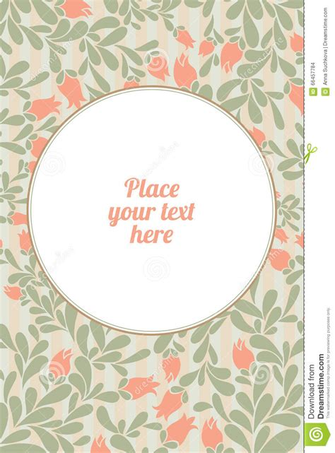 trendy wedding invitation cards invitation wedding card with current trendy flowers vector