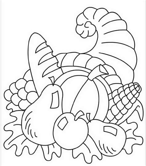 coloring page preschool thanksgiving crafts coloring pages