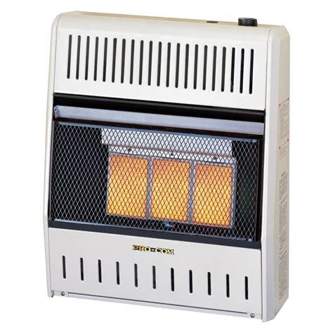 propane room heater procom infrared ventless liquid propane space heater