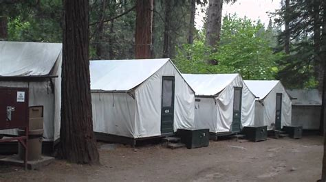 Yosemite Cing Cabins Curry by Curry Tent Cabins