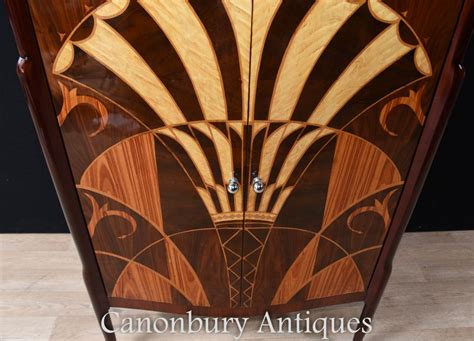 art deco drinks art deco cocktail drinks chest inlay furniture