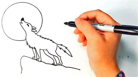 imagenes egipcias faciles de dibujar c 243 mo dibujar un lobo paso a paso dibujo f 225 cil de lobo