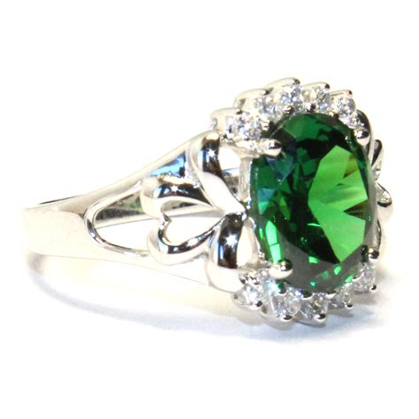 emerald green classic promise ring beautiful promise rings